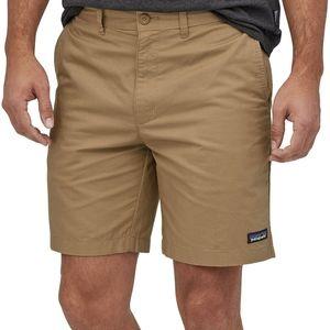 "Patagonia lightweight all wear hemp 8"" shorts NWT"
